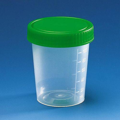 urine sample container / with screw cap
