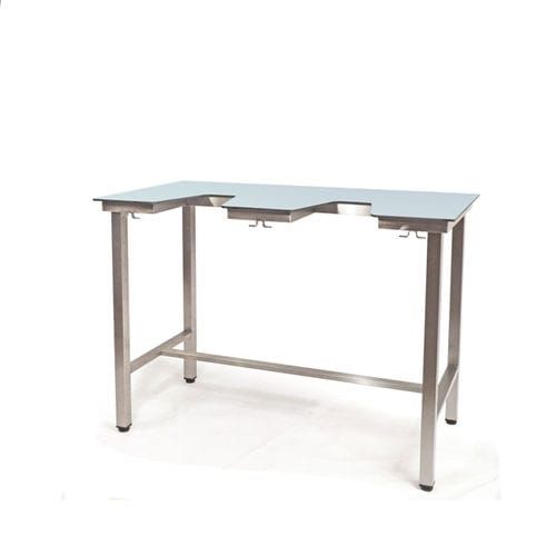 echocardiography examination table / manual / fixed-height