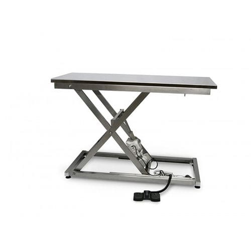 electric examination table / manual / height-adjustable / 1 section