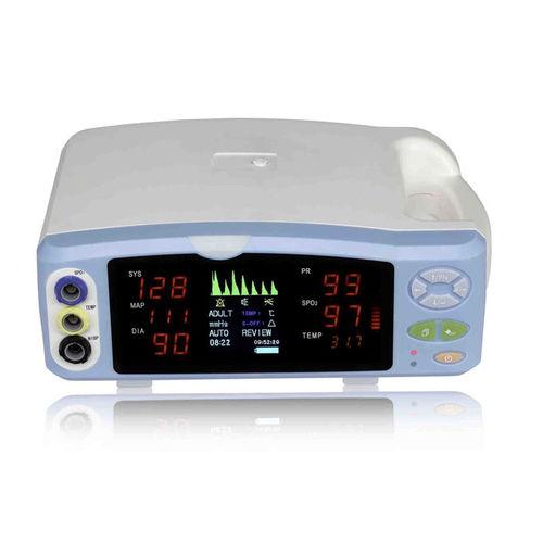 NIBP patient monitor / SpO2 / intensive care / tabletop