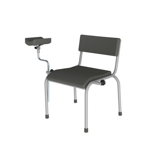 non-adjustable blood collection chair