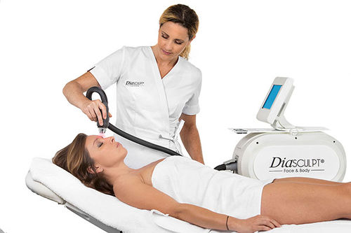 IR diathermy skin care unit
