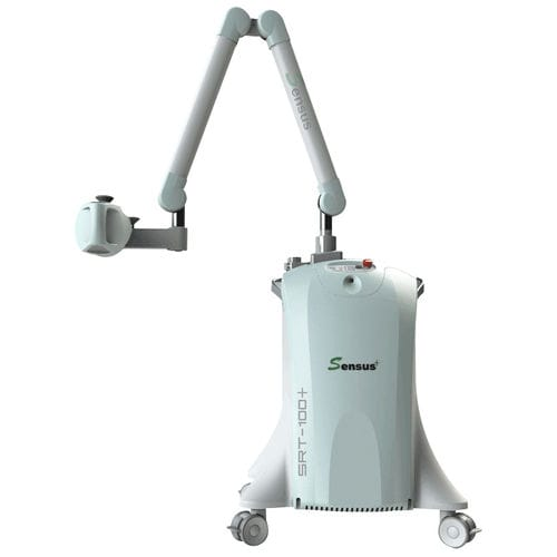 X-ray superficial radiation therapy system / skin cancer treatment / mobile