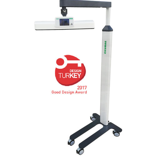 infant phototherapy lamp / on casters