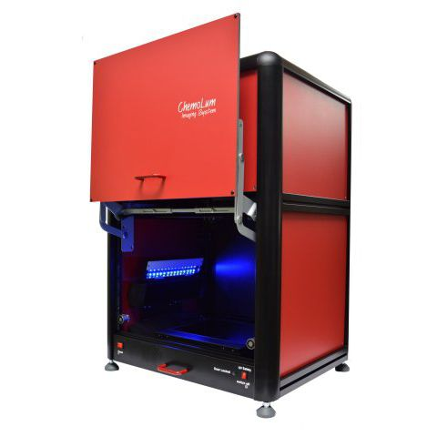 automated molecular imaging system / for scientific research / fluorescence / chemiluminescence