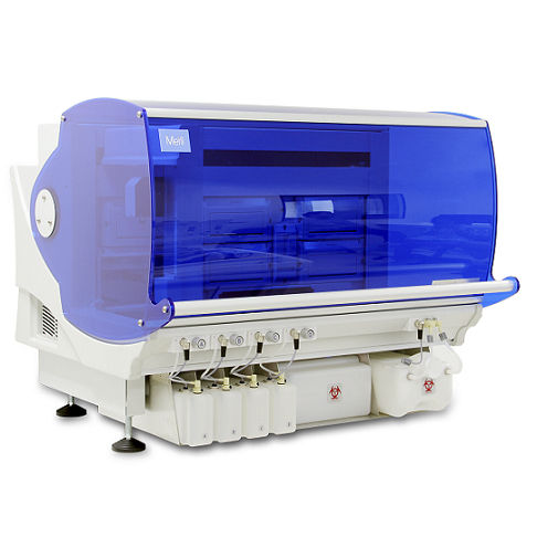 automated immunoassay analyzer / for clinical diagnostic / modular / enzyme immunoassay