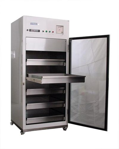 laboratory refrigerator / blood bank / cabinet / stainless steel