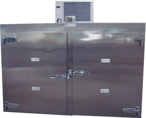 mortuary stretcher refrigerated mortuary cabinet / 4-body / front-loading