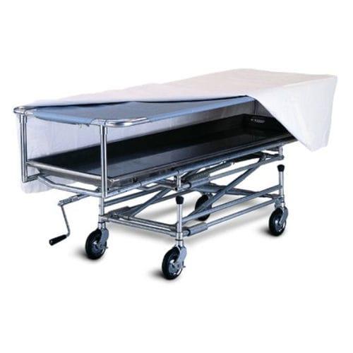 concealment trolley / mortuary / lifting / aluminum
