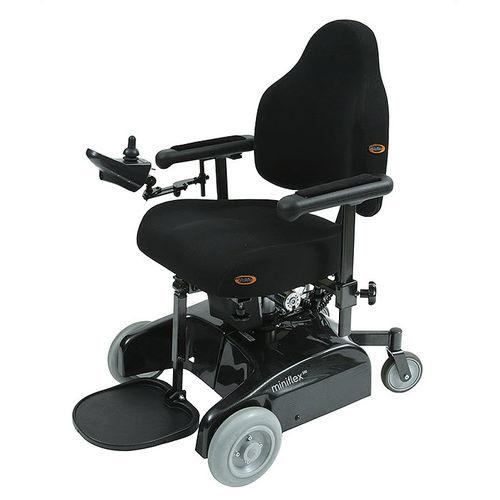 electric wheelchair / indoor / with legrest / reclining