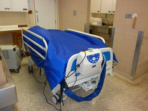 bariatric mortuary cooling unit