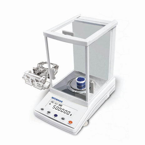electronic laboratory balance / analytical / for scientific research / benchtop