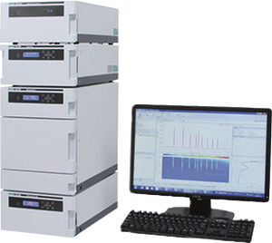 HPLC chromatography system / UHPLC / UV/VIS / refractive index