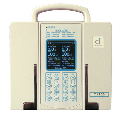 2-channel infusion pump