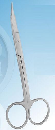 dental surgery scissors / Goldman-Fox / for humans / curved