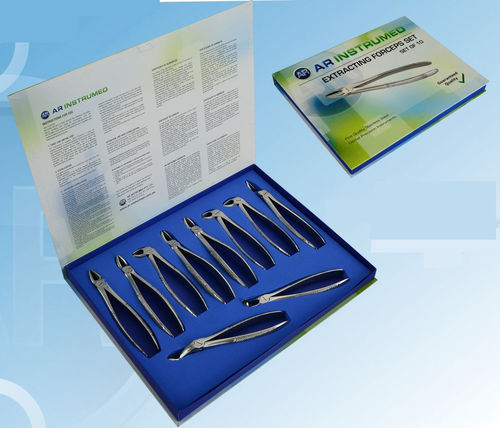 tooth root extraction forceps / for molars / for wisdom teeth / upper anterior
