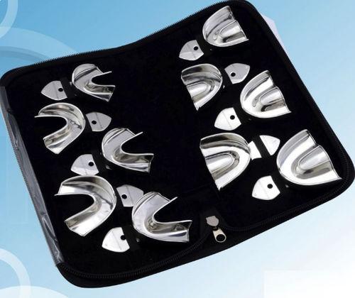 upper dental impression tray / lower / for complete dentures