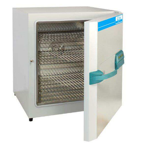 laboratory sterilizer / hot air / bench-top / stainless steel