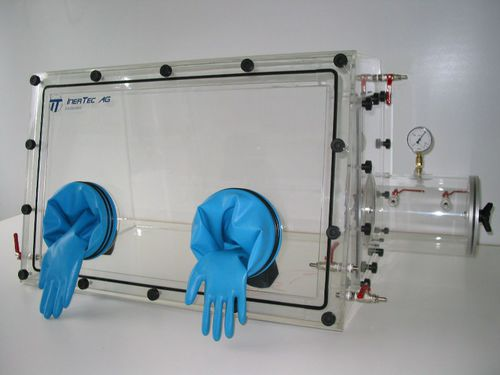 laboratory glove box