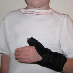 wrist orthosis / thumb orthosis / pediatric
