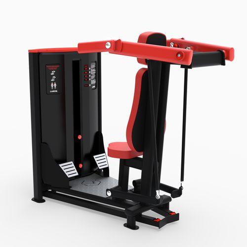 shoulder press gym station