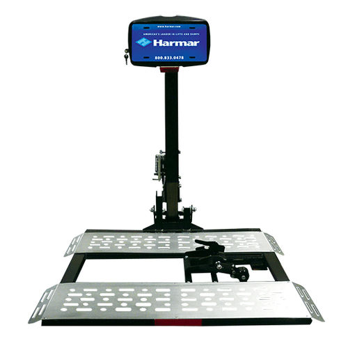 wheelchair lifting platform / vehicle-mounted