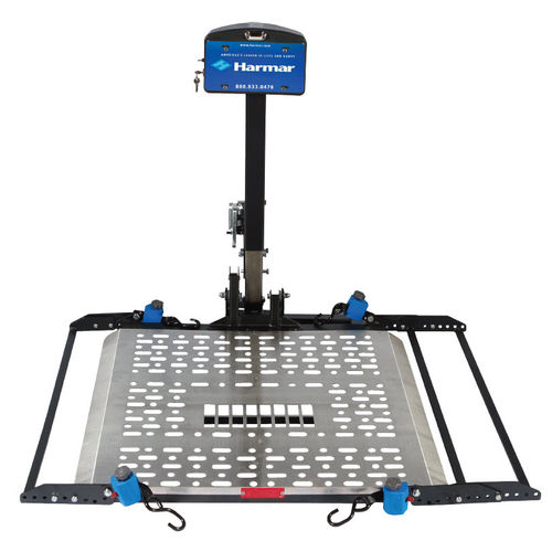 wheelchair lifting platform / vehicle-mounted