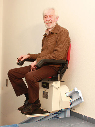 folding stairlift / armchair type