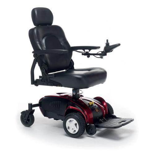 electric wheelchair / outdoor / indoor / with legrest