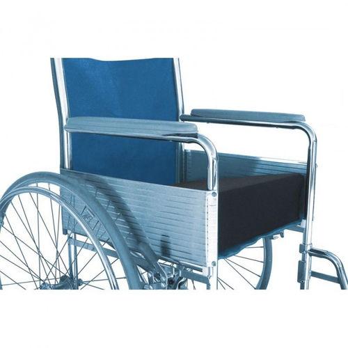 positioning cushion / for wheelchairs / polyurethane / wedge-shaped