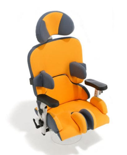 height-adjustable wheelchair seating