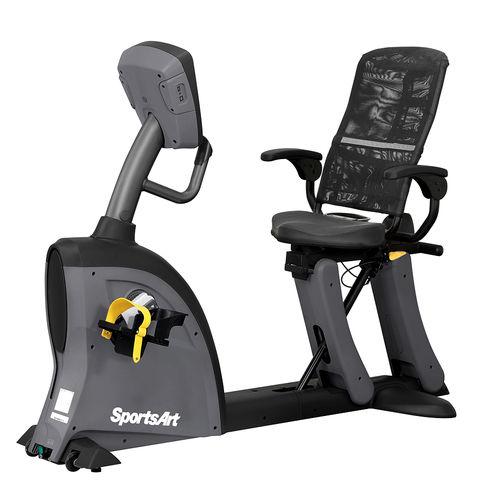 semi-recumbent exercise bike