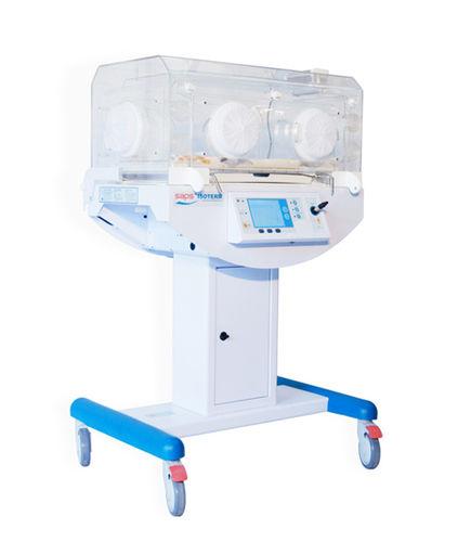 neonatal incubator with monitor