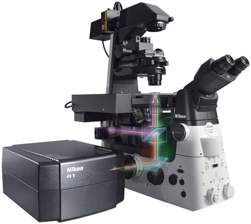 laboratory microscope / for research / optical / confocal