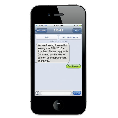 scheduling software module / appointment management / medical / for smartphones