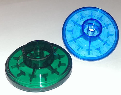 hydrophobic filter / for medical suction pumps / bacterial