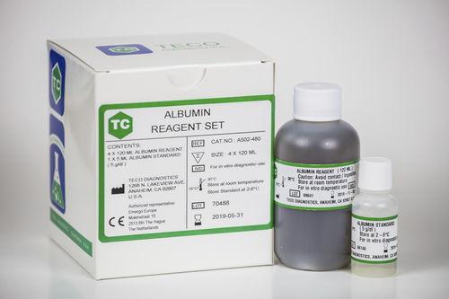 albumin reagent / for clinical chemistry / serum / colorimetric