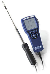 air velocity tester / temperature / pressure / humidity
