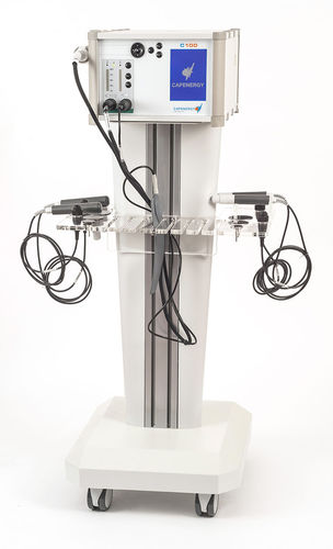 tecar therapy unit / trolley-mounted / 1-channel