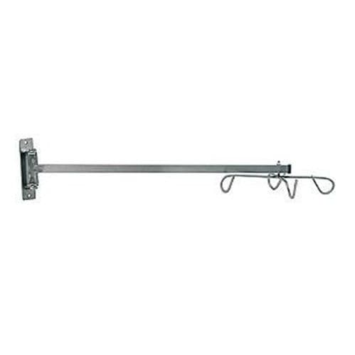 wall-mounted IV pole
