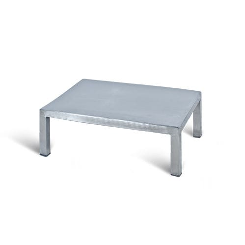 1-step step stool / stainless steel / surgical