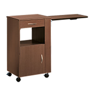 bedside table with wardrobe