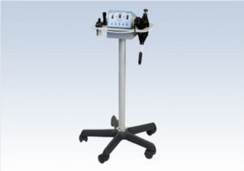 trolley-mounted body massager