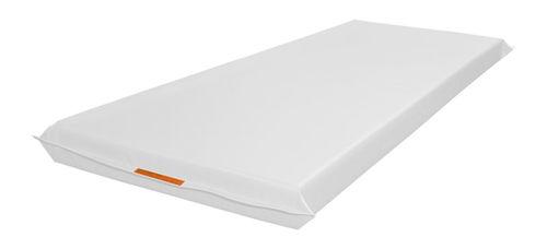 hospital bed mattress / foam / fire-resistant / waterproof