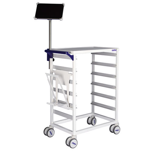 nursing trolley / for linen / for general purpose / for medicine