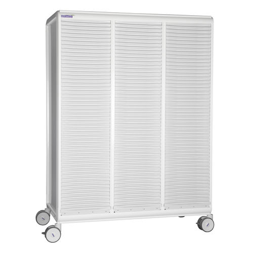 transport trolley / storage / for linen / for general purpose