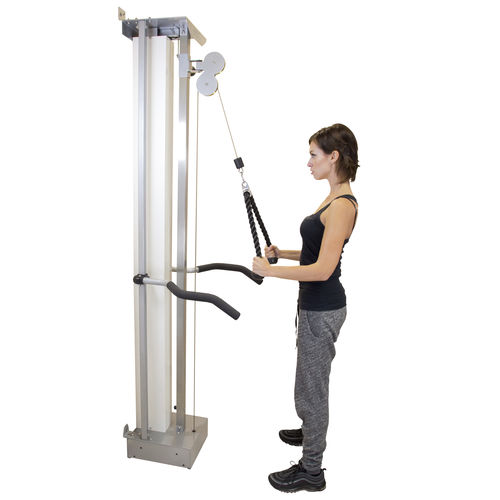 single-cable exercise pulley / high / low