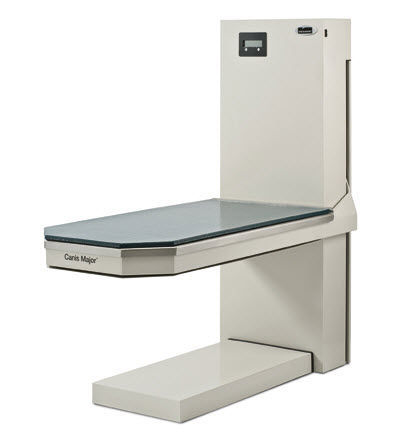 veterinary examination table / electric / height-adjustable / 1-section