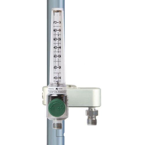 O2 flow meter / plug-in type