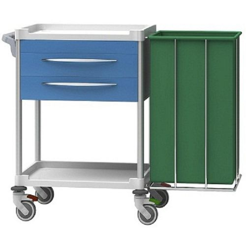 treatment trolley / transport / for general purpose / with drawer
